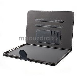 Daffi elegantné puzdro na iPad Air 2 - šedé - 5