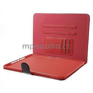 Daffi elegantné puzdro na iPad Air 2 - červené - 5