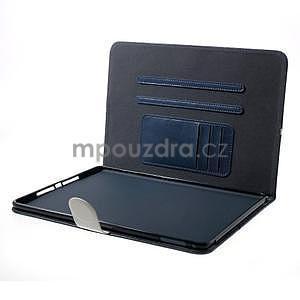 Daffi elegantné puzdro pre iPad Air 2 - tmavomodré - 5
