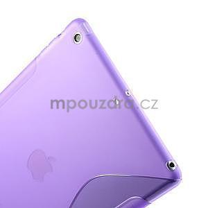 S-line gélový ochranný obal na iPad Air - fialový - 5