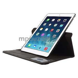 Circ otočné puzdro na Apple iPad Air - čierne - 5