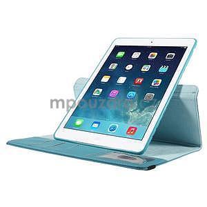 Circ otočné puzdro na Apple iPad Air - svetlomodré - 5