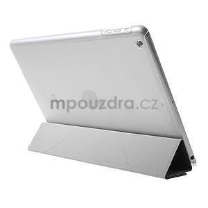Origami ochranné puzdro pre Apple iPad Air - čierne - 5