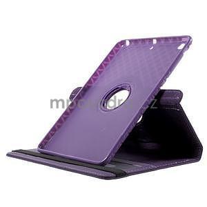 Circu otočné puzdro na Apple iPad Mini 3, iPad Mini 2 a ipad Mini - fialové - 5