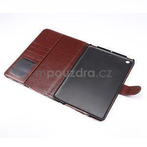 Cloth luxusné puzdro na Ipad Mini 3, Ipad Mini 2 a Ipad Mini - červené - 5