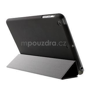Classic tří polohové puzdro na iPad Mini 3, ipad Mini 2 a na iPad Mini -  čierne - 5