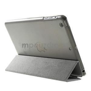 Classic tří polohové puzdro na iPad Mini 3, ipad Mini 2 a na iPad Mini -  šedé - 5