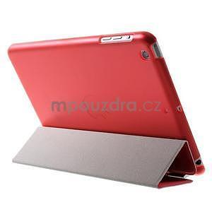 Classic tří polohové puzdro na iPad Mini 3, ipad Mini 2 a na iPad Mini -  červené - 5