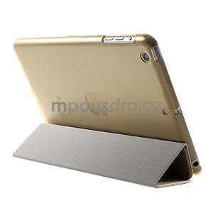 Classic tří polohové puzdro na iPad Mini 3, ipad Mini 2 a na iPad Mini -  champagne - 5