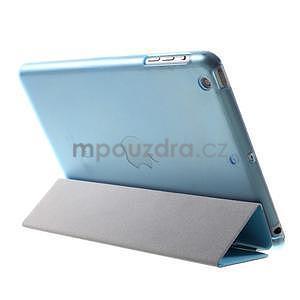 Classic tří polohové puzdro na iPad Mini 3, ipad Mini 2 a na iPad Mini -  modré - 5