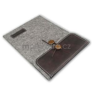Envelope univerzálne púzdro na tablet 22 x 16 cm - coffee - 5