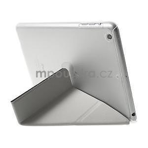 Origami ochranné puzdro iPad Mini 3, iPad Mini 2, iPad mini - čierne - 5