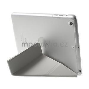 Origami ochranné puzdro iPad Mini 3, iPad Mini 2, iPad mini - biele - 5