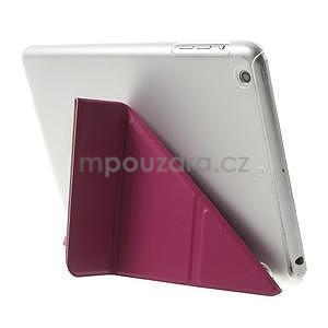 Origami ochranné puzdro iPad Mini 3, iPad Mini 2, iPad mini - rose - 5