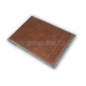 Envelope univerzálne púzdro na tablet 22 x 16 cm - hnedé - 5