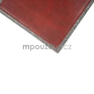 Envelope univerzálne púzdro na tablet 22 x 16 cm - červené - 5