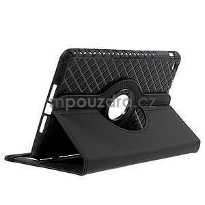 Circu otočné puzdro pre Apple iPad Mini 3, iPad Mini 2 a ipad Mini - čierne - 5