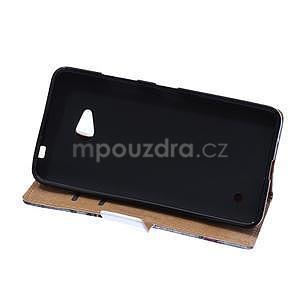Koženkové puzdro pre mobil Microsoft Lumia 640 - Eiffelova veža koženkové puzdro pre mobil Microsoft Lumia 640 - kráľovská koruna - 5