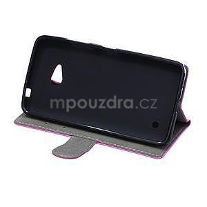 Ochranné peňaženkové puzdro Microsoft Lumia 640 - fialové - 5