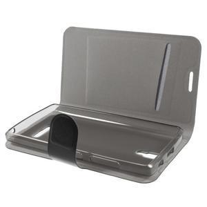 Horse peňaženkové puzdro pre Lenovo A2010 - čierné - 5