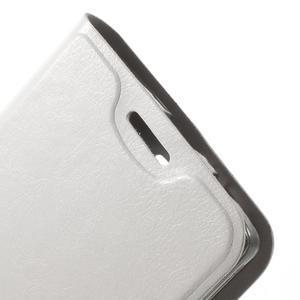 Horse peněženkové pouzdro na Lenovo A2010 - bílé - 5