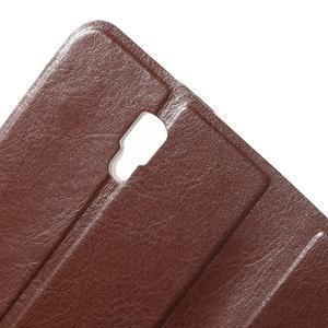 Horse peňaženkové puzdro pre Lenovo A2010 - hnedé - 5