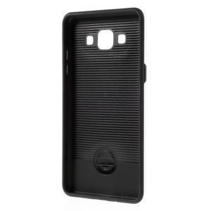 Hybridní gélové/plastové puzdro na Samsung Galaxy A5 - biele - 5