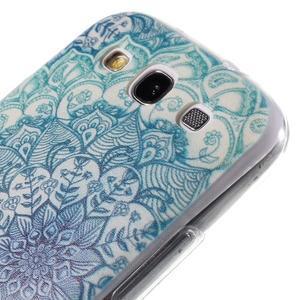 Ultratenký gélový obal na Samsung Galaxy S3 - lotus - 5