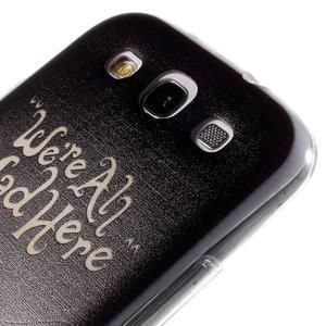 Ultratenký gélový obal na Samsung Galaxy S3 - smile - 5