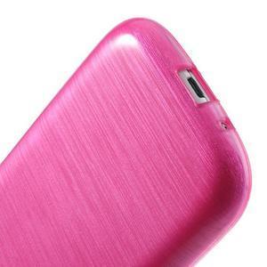 Brush gélový kryt na Samsung Galaxy S III / Galaxy S3 - rose - 5