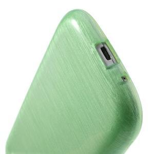 Brush gélový kryt na Samsung Galaxy S III / Galaxy S3 - zelený - 5
