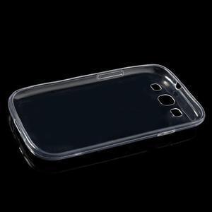 Ultratenký slim 0.6 mm obal na Samsung Galaxy S III / S3 - transparentný - 5