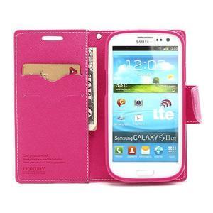 Mr. Fancy koženkové puzdro na Samsung Galaxy S3 - růžové - 5