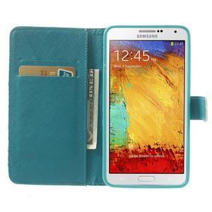Peňaženkové puzdro na mobil Samsung Galaxy Note 3 - Eiffelova veža - 5