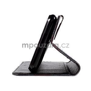Koženkové pouzdro na mobil Sony Xperia E4 - UK vlajka - 5