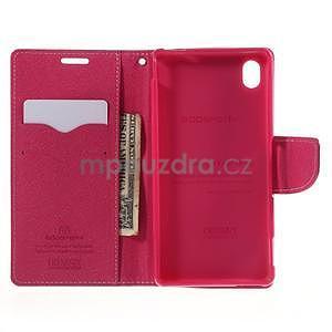 Ochranné puzdro pre Sony Xperia M4 Aqua - ružové/rose - 5