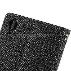 Peňaženkové puzdro pre mobil Sony Xperia Z3 - čierne - 5