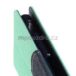 Peňaženkové puzdro pre mobil Sony Xperia Z3 - azurové - 5