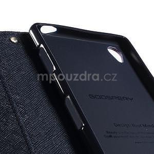Peněženkové pouzdro na mobil Sony Xperia Z3 - fialové - 5