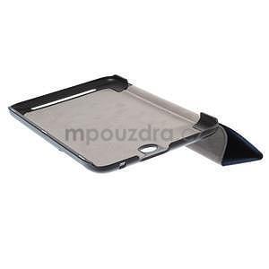 Supreme polohovateľné puzdro na tablet Asus Memo Pad 7 ME176C - tmavomodré - 5
