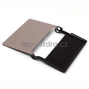 Koženkové puzdro pre Lenovo Yoga Tablet 2 8.0 - čierne - 5