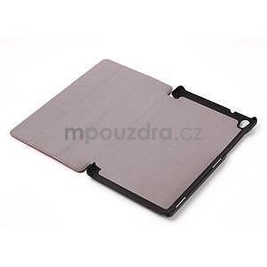 Svetlomodré puzdro na tablet Lenovo S8-50 s funkciou stojančeku - 5