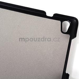 Čierne puzdro na tablet Lenovo S8-50 s funkciou stojančeku - 5