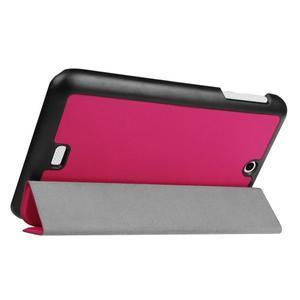 Trifold polohovatelné puzdro pre tablet Acer Iconia One 7 B1-770 - rose - 5