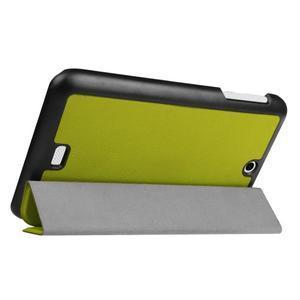 Trifold polohovatelné puzdro pre tablet Acer Iconia One 7 B1-770 - zelené - 5