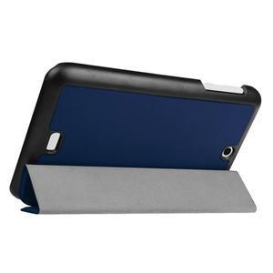 Trifold polohovatelné puzdro pre tablet Acer Iconia One 7 B1-770 - tmavomodré - 5