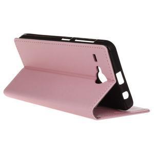 Gregory peňaženkové puzdro pre Acer Liquid Z520 - ružové - 5
