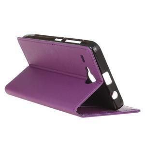 Gregory peněženkové pouzdro na Acer Liquid Z520 - fialové - 5