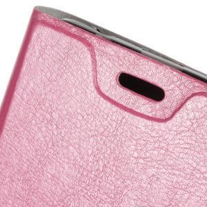 Horse peňaženkové puzdro pre Acer Liquid Z520 - rose - 5