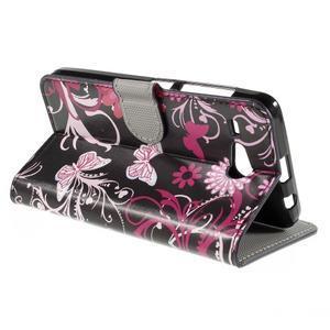 Nice koženkové puzdro pre mobil Acer Liquid Z520 - magičtí motýľci - 5